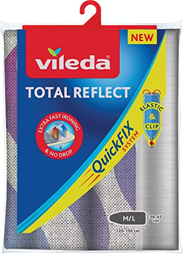 Funda de planchar, metálica: Vileda Total Reflect