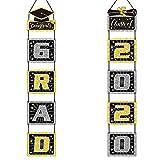 KATOOM 2020 Grad Banner, Letrero de Porche de Graduación Cuelgue Pared Puerta Foto Telón...