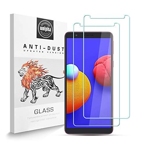 Protector de Pantalla para Samsung Galaxy A01 Core [2-Pack], Vidrio Templado de 9H Dureza, 2.5D Alta Definicion Sin Burbujas, Alta Sensibilidad, Samsung Galaxy A01 Core Protector de Pantalla