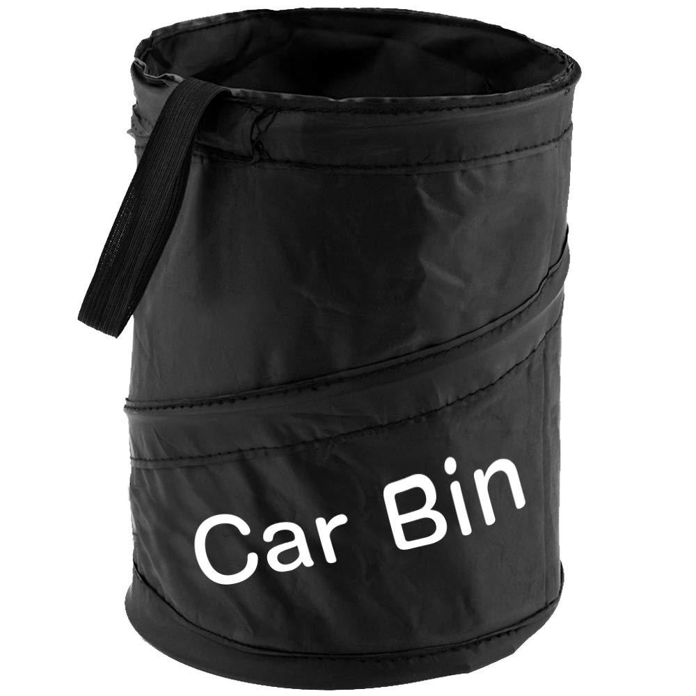 Car Bin Litter Waste Rubbish Trash Storage Pocket Tough 600D Fabric Collapsible