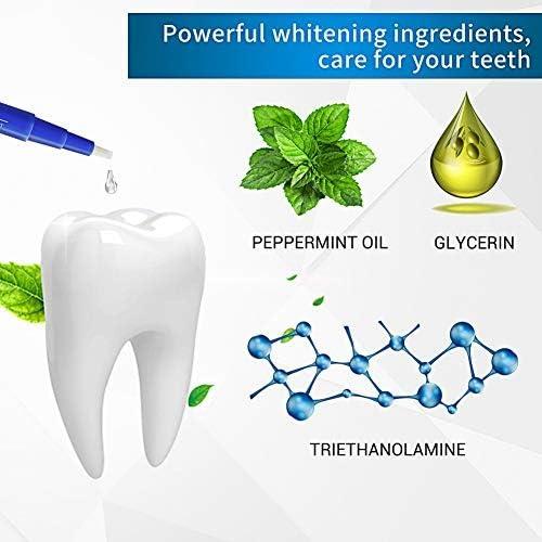 Blanchiment des dents,Gel de blanchiment des dents,Kit de Blanchiment Dentaire,Blanche Nettoie et Blanchit les Dents (2packs)