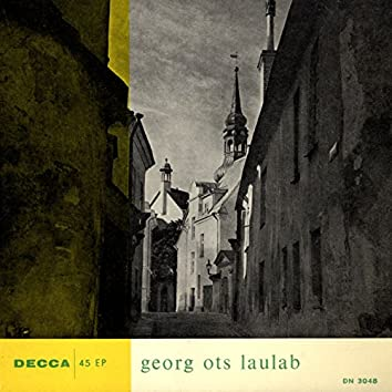 Georg Ots laulab