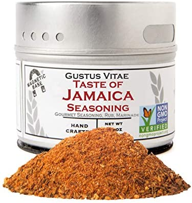 Taste of Jamaica Jerk Seasoning Spice Blend Authentic Artisanal Gourmet Blend Non GMO Crafted product image