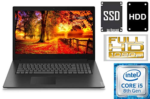 "Lenovo V340-17IWL - Intel Core i5 - 256GB SSD + 1000GB HDD - 16GB DDR4-RAM - CD/DVD Brenner - Windows 10 PRO - 44cm (17.3"" Full HD IPS TFT)"