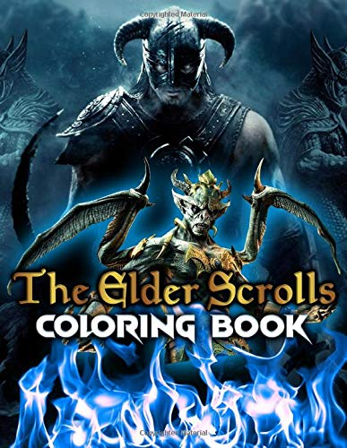 Elder Scrolls Coloring Book: Elder Scrolls An Adult Coloring Book Color To Relax
