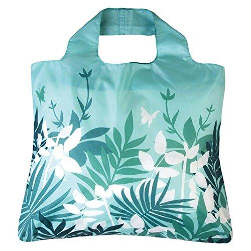 Zusammenfaltbare, wiederverwendbare, langlebige Einkaufstasche von Envirosax Botanica