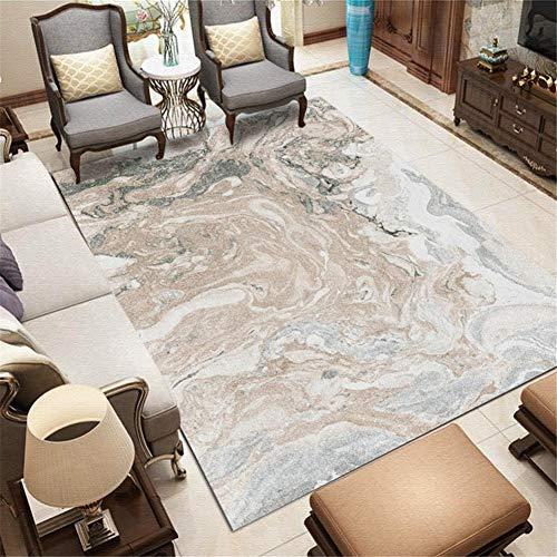 Joondyb Fashion Home Modern 3D Rug Living Room Floor Creative Xmsuitable for Home Bedroom Yoga Non-Slip Washable Carpet H2116-100X150cm