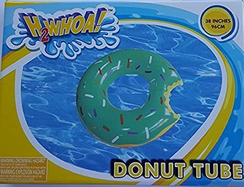 hasta un 65% de descuento H2WHOA  Large Donut Tube Float verde Icing with with with Sprinkles 38 Inches by Five Below  tomar hasta un 70% de descuento