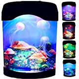 Lámpara de medusas LED de color cambiante de acuario de estado de ánimo de la noche de la luz para el hogar Oficina Hotel Deco