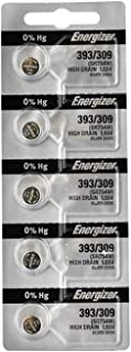 Energizer 393 Button Cell Batteries, 1.5 V, 5/Pack (Eveready #)