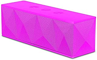 Pyramid Speakers Bluetooth Rechargeable Speaker - Pink