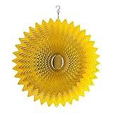 Spin Art Original Splash Gold Wind Spinner (12 pulgadas)