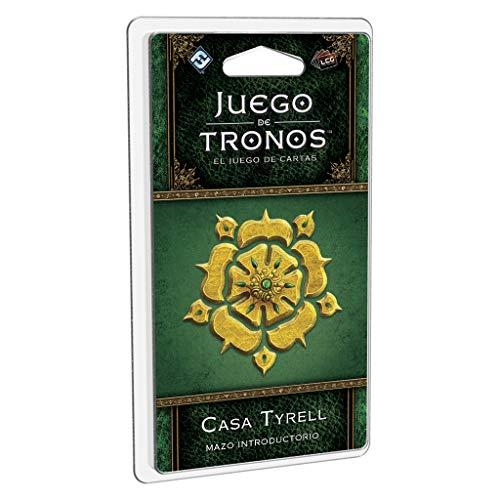 Edge Entertainment Juego de Tronos LCG: Mazo introductorio de la Casa Tyrell-Español, Multicolor, EDG00GT41ES (GT41ES)