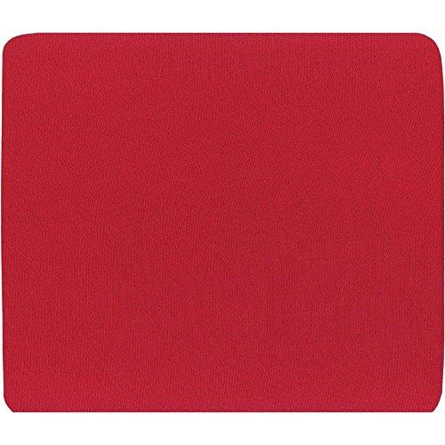 InLine 55455R Tappetino per Mouse Ottici, Superfice in Tessuto, 250 x 220 x 6 mm, Rosso