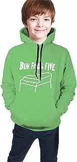 Girls Personality Long Sleeves Hoodies,Boys Casual Blouse Top,Teenage Ben Folds Five Piano Logo Sweatshirt with Pocket
