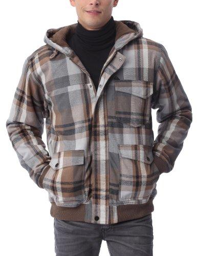 Quiksilver Mataruna - Chaqueta para Hombre, tamaño XL, Color Gris