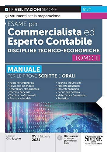 Esame per Commercialista ed Esperto Contabile – Discipline Tecnico-economiche: Vol. 2