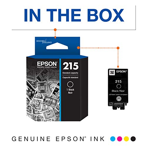 EPSON T215 Ink Standard Capacity Black Cartridge (T215120-S) for select Epson WorkForce Printers Photo #4