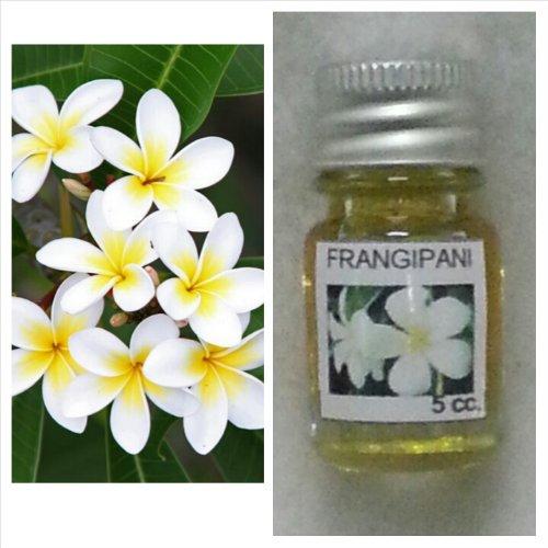 Prinxess16 Frangipani (Leelawadee) Flower Scent Thai Spa Aroma Pure Essential/Fragrance Oil for Spa Bath, Candle Lamp Burner, 5ml