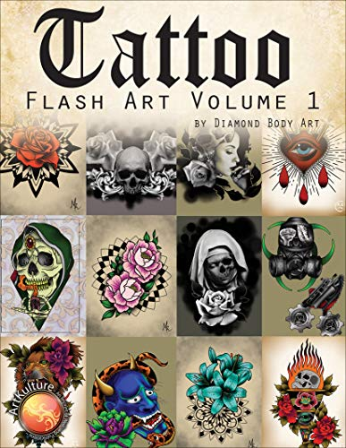 Compare Textbook Prices for TATTOO - Flash Art Vol. 1  ISBN 9781941064566 by Diamond Body Art