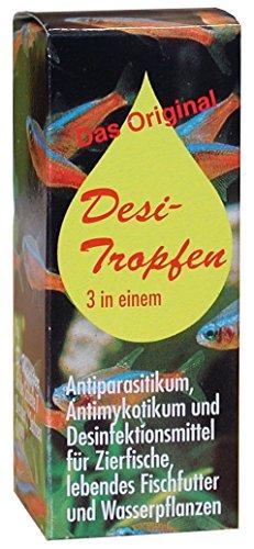 D. Weniger 39w9000 Desi-Tropfen Arzneimittel für die Aquaristik