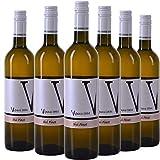 VIPAVA 1894 Vin blanc (6 x 0,75 l) SIVI PINOT (Pinot Gris) 2018, vin blanc sec vendangé à la main