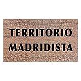 Felpudos Originales Felpudo Madridista. Regalo para Aficionados...