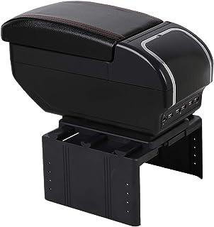 seiyishi アームレスト コンソールボックス 車用収納ボックス 汎用 車肘置き 肘掛け 多機能 汎用 USBポート付き 内装 長時間 運転 アームレスト 車 肘掛け 収納 SY-CZSW-063