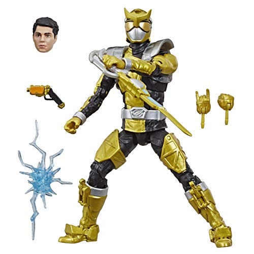 Power Rangers Lightning Collection – Beast Morphers Gold Ranger de 15 cm – Figura de acción…