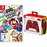 Super Mario Party - [Nintendo Switch] + HORI Kabelloser Controller (Mario) für Nintendo Switch