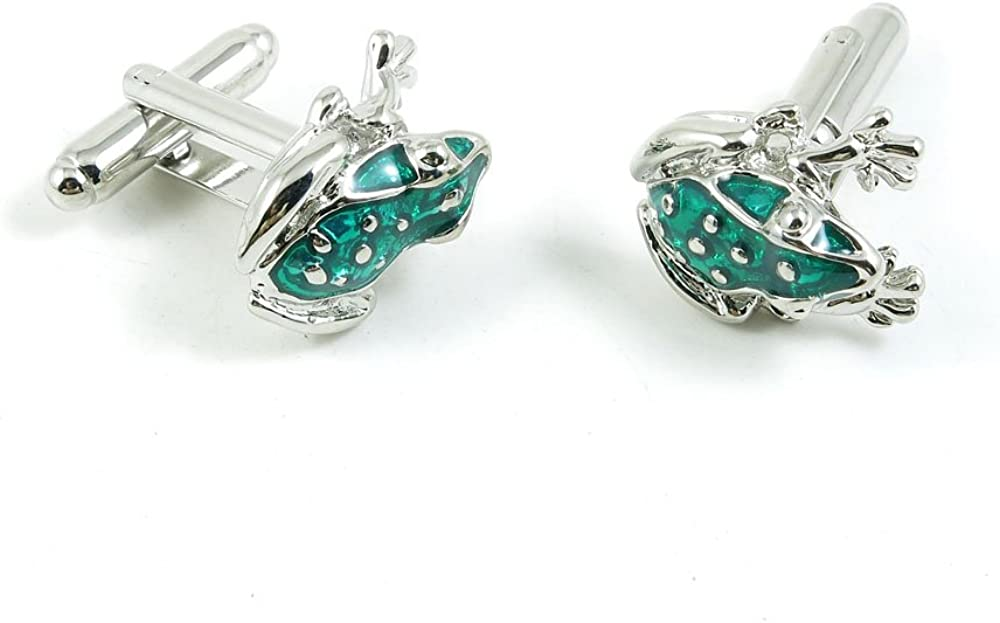 Cufflinks Cuff Links Classic Fashion Jewelry Party Gift Wedding 428641 Turquoise Frog Prince