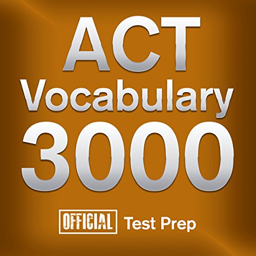 Official ACT Vocabulary 3000 audiobook cover art