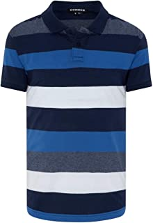 Connor Men's Brodie Polo Regular Collared Casual Tops Sizes XS-3XL Affordable Quality with Great Value