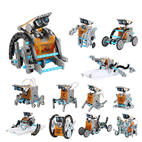 Lucky Doug Solar Robot Kit 12-in-1...