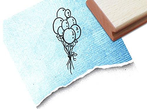 Stempel - Kinderstempel LUFTBALLONS - Motivstempel Bildstempel Geschenk für Kinder - Kita Schule Einschulung Basteln ausmalen Deko - von zAcheR-fineT