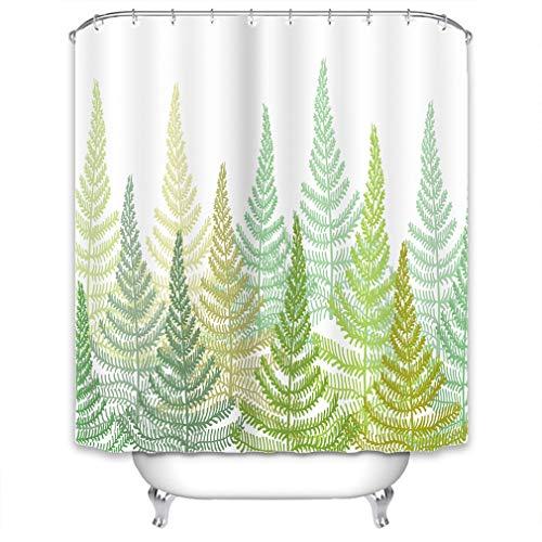 X-Labor Streifen Motiv Duschvorhang Wasserdicht Stoff Anti-Schimmel inkl. 12 Duschvorhangringe Waschbar Badewannevorhang 240x200cm (240 * 200cm (B*H), Muster-L)