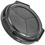Impulsfoto JJC - Tapa de objetivo automática compatible con Panasonic LUMIX DMC-LX100, LX100II, Leica D-LUX(Typ 109), D-LUX 7 - ALC-LX100, color negro