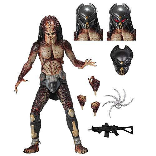 NECA Ultimate Figura articulada Fugitive Predator, Multicolor (51581)