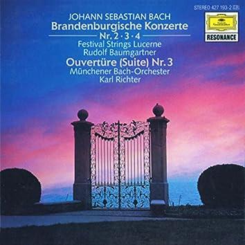 バッハ:ブランデンブルク協奏曲第2~4番
