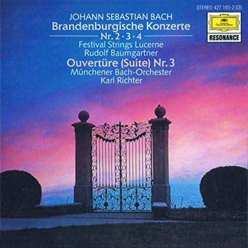 Festival Strings Lucerne, Rudolf Baumgartner, Münchener Bach-Orchester & Karl Richter