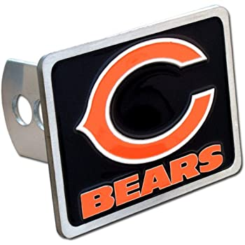 2 Square Type III Hitch Cover FANMATS NFL Carolina Panthers Metal Hitch Cover Black