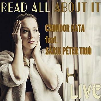 Read All About It (feat. Sárik Péter Trió)