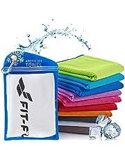 Serviette de Refroidissement Parfaite comme Serviette Sport Microfibre ou Serviette rafraîchissante – Cool Towel pour Fitness, Sports, Voyages, Yoga