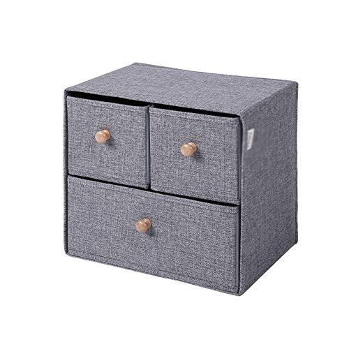 Box Der Aufbewahrungsbehälter mit Deckel ist geeignet for Kleidung, Zeitschriften, Spielzeug und Kunsthandwerk.Geeignet for Schlafzimmer, Wohnzimmer und Kleiderschrank (Size : C)