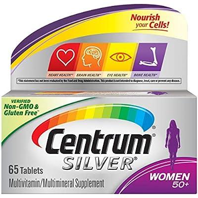 Centrum Silver Women Multivitamin/Multimineral Supplement Tablet