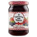 Le Conserve della Nonna Confettura Extra di Frutti di Bosco con 70% di Frutta Scelta e Zucchero di Canna - 330 g