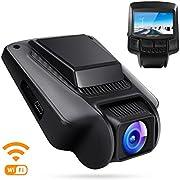 "APEMAN Dashcam WiFi Full HD 1080P Autokamera mit APP Sony IMX323 Sensor 2.45"" IPS Bildschirm 170¡ã Weitwinkel G Sensor Super Nachtsicht Loop-Aufnahme"