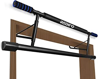 Redipo Pull Up Bar for Doorway with Smart Hook, Chin Up Bar No Screw,Fitness Door Bar Foldable for Home Gym Strength Training Equipment