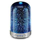 Best Aromatherapy Oil Diffusers - Essential Oil Diffuser 3D Glass Galaxy Aromatherapy 120ml Review