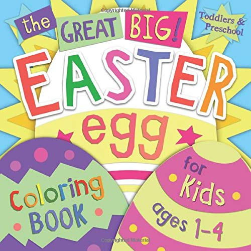 The Great Big Easter Egg Coloring Book